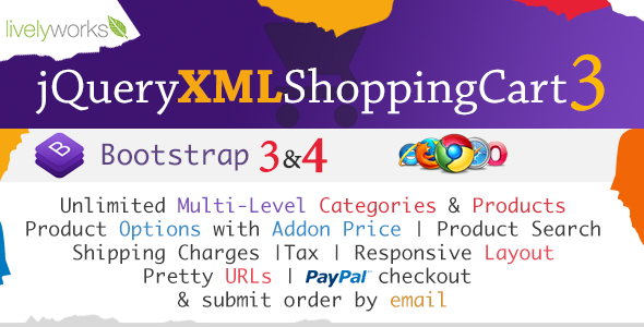 JQuery XML Shopping Cart - Store - Shop - CodeCanyon Item for Sale