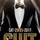 Suit & Tie Flyer Template