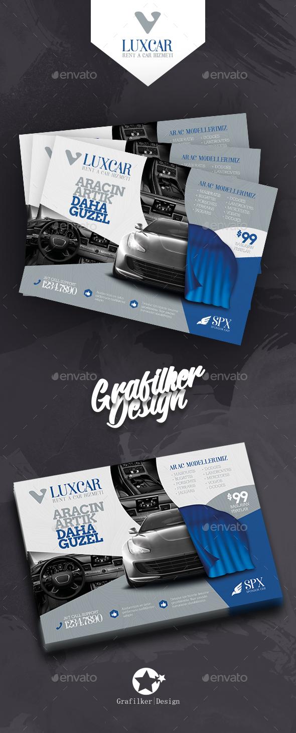 Rent A Car Flyer Templates - Corporate Flyers