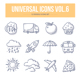 Universal Doodle Icons vol.6 - GraphicRiver Item for Sale