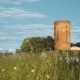 Kamyenyets, Brest Region, Belarus. Tower Of Kamyenyets In Sunny Summer Day With Green Grass In - VideoHive Item for Sale