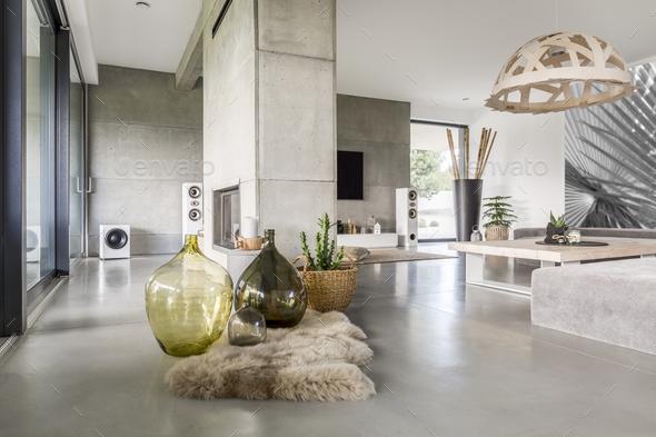 Big glass vases - Stock Photo - Images