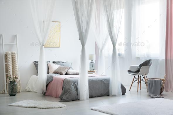 Balanced and calm interior design - Stock Photo - Images