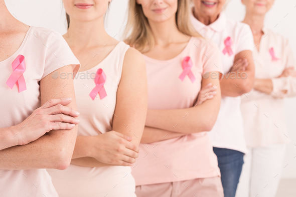Power to fight breast cancer - Stock Photo - Images