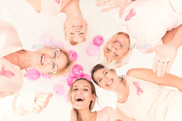 Breast cancer diagnostic campaign - Stock Photo - Images