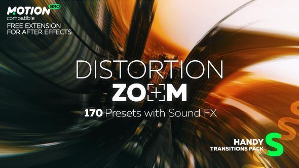 Distortion Zoom Transitions (Miscellaneous) After Effects
