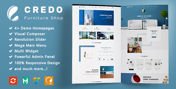 Credo - Furniture Responsive WooCommerce WordPress Theme - WooCommerce eCommerce