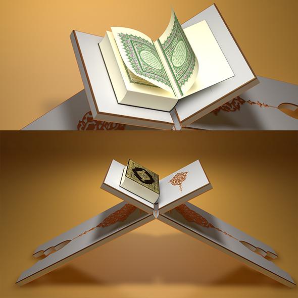 Quran Reading - 3DOcean Item for Sale