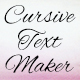 Cursive Text Maker - VideoHive Item for Sale