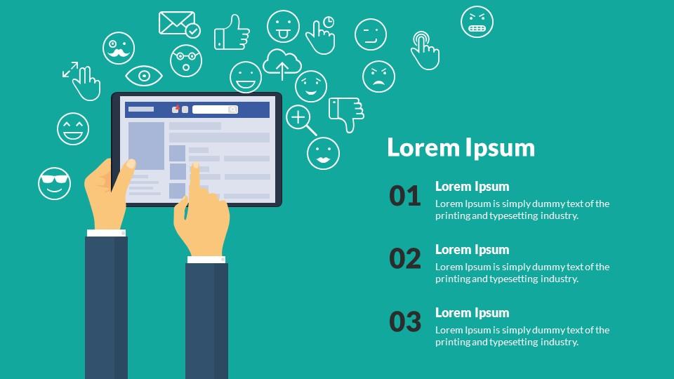 Facebook analytics powerpoint presentation template by sananik facebook analytics powerpoint presentation template toneelgroepblik Image collections