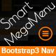 Smart Megamenu - Responsive Bootstrap3 Multipurpose Megamenu