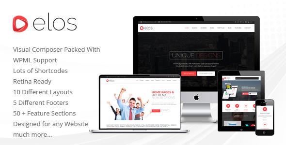 Elos Responsive Multipurpose WordPress Theme - Business Corporate