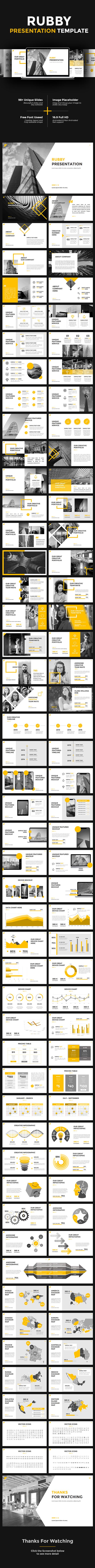Rubby Google Slides - Google Slides Presentation Templates