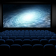 science fiction film in empty movie theater, 3d illustration - PhotoDune Item for Sale