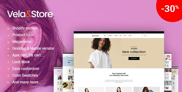 Image of Shopify  - VelaStore  Fashion Multi Concept