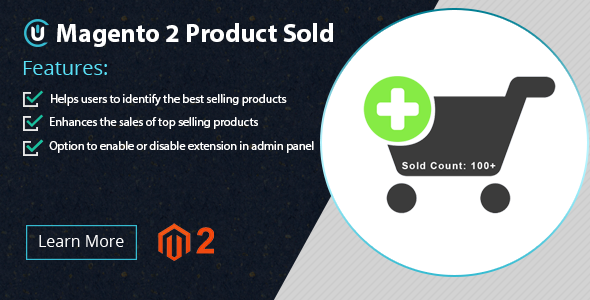 Magento 2 Products Sold Extension - Show Sales Count - CodeCanyon Item for Sale