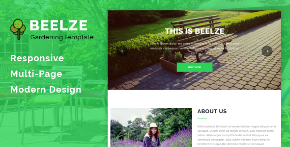 Image of Beelze - Responsive Gardening and Landscaping HTML Template