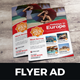 Travel Real Estate Flyer Ad Design - GraphicRiver Item for Sale