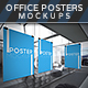 Office Posters Mockups