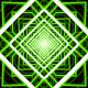 Green Infinite Tunnel Loop - VideoHive Item for Sale