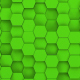 Green Hexagons Loop - VideoHive Item for Sale