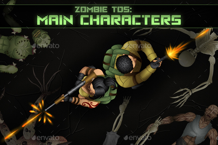 Top-Down Shooter: Main Characters