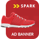 Spark Shopping | HTML 5 Animated Google Banner