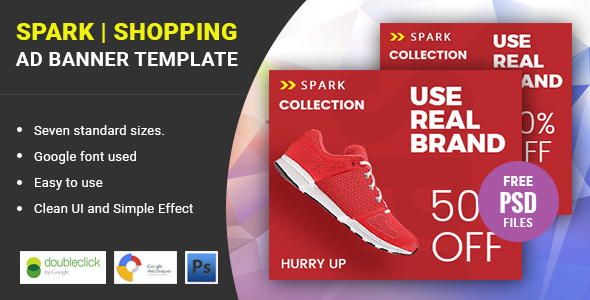 Spark Shopping | HTML 5 Animated Google Banner - CodeCanyon Item for Sale