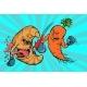 Carrots Beats a Croissant, Vegetarianism Vs Fast