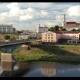Grodno, Belarus Bridge Across Neman River, Grodno Regional Drama Theatre, St Francis Xavier - VideoHive Item for Sale