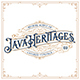 Java Heritages Typeface - GraphicRiver Item for Sale