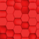 Red Hexagons Loop - VideoHive Item for Sale