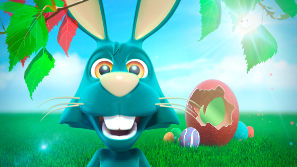 Funny bunny easter greetings by dareangel videohive play preview video m4hsunfo