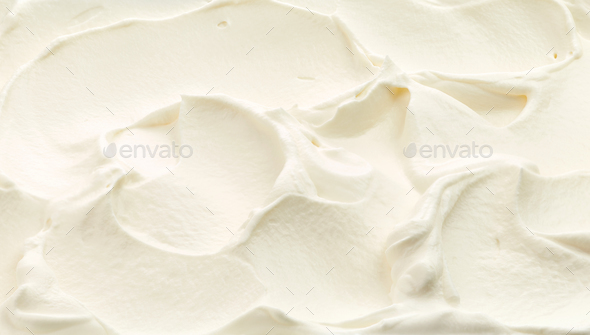 whipped cream texture - Stock Photo - Images