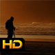 Silhouette of Photographer at the Sea - VideoHive Item for Sale