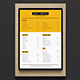 Simple Coffee Shop Menu - GraphicRiver Item for Sale