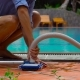 Service and Maintenance of the Pool Cleaning the Pool - VideoHive Item for Sale