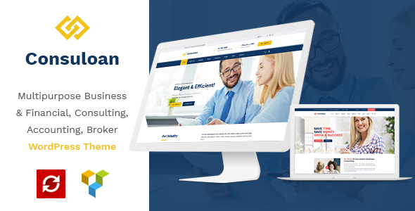 Consuloan | Multipurpose Consulting WordPress Theme - Business Corporate