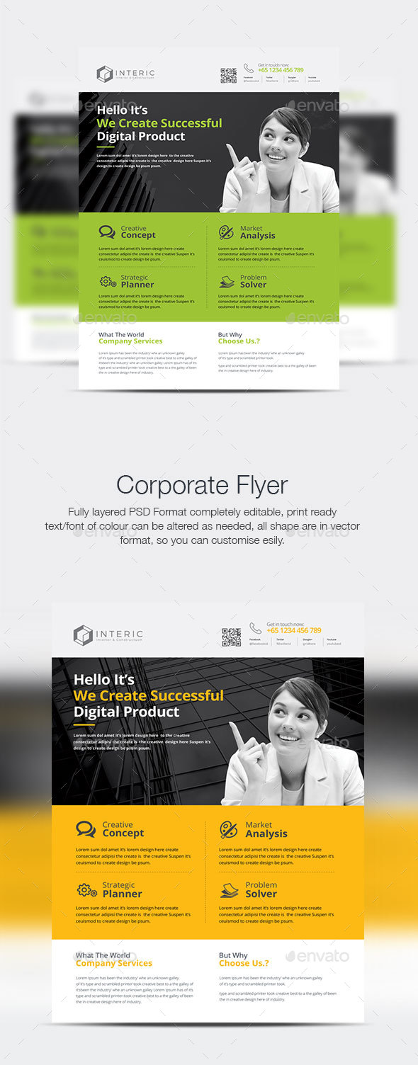Creative Business Flyer - Corporate Flyers