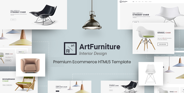 ArtFurniture - Minimal Furniture Shop eCommerce HTML Template