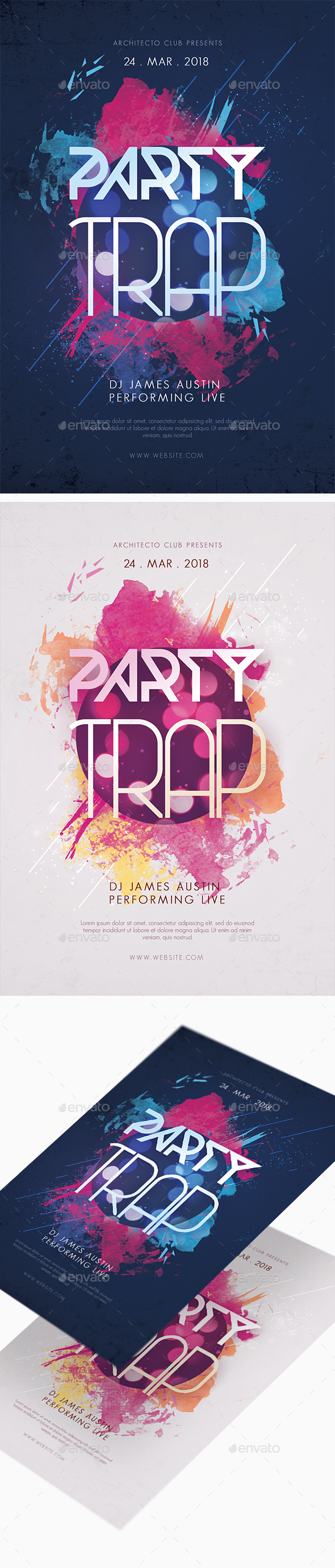 Party Invitaion Flyer - Clubs & Parties Events