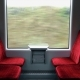 Traveling By Train Empty Train Compartment - VideoHive Item for Sale