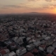 Aerial Townscape at Sunrise - VideoHive Item for Sale
