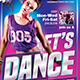 Dance Classes Flyer Template V1 - GraphicRiver Item for Sale