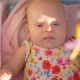 Active Baby Girl in Pram Outdoor - VideoHive Item for Sale