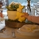 Woman and Her Little Daughter Are Setting Easter Festive Table with Bunny and Eggs Decoration - VideoHive Item for Sale