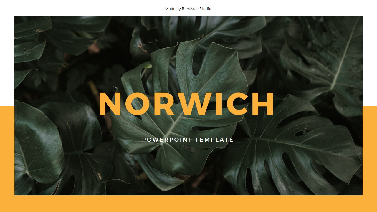 Norwich PowerPoint Template