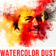 Watercolor Rangoli Dust Photoshop Action