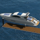 Yacht On The Sea - VideoHive Item for Sale