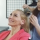 Gorgeous Happy Woman Enjoying Getting a New Hairstyle By Her Cute Daughter - VideoHive Item for Sale